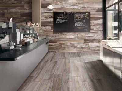 堅磁歐洲磁磚 醇釀-工業仿舊木紋磚